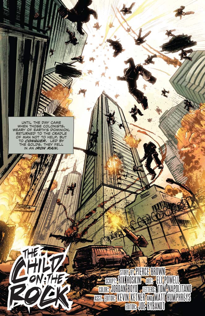 Red Rising: Sons of Ares #1