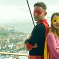 Portsmouth Comic Con - Captain Comic Con and Girl Wonder SNIP