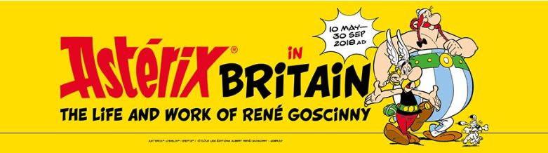 Astérix in Britain exhibition opens at London's Jewish Museum in May