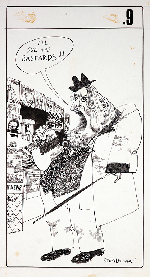 New Cries of London by and © Ralph Steadman