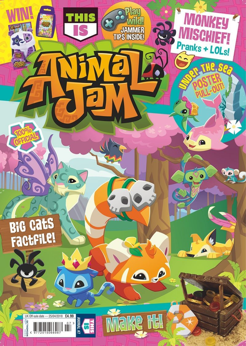 This Is Animal Jam magazine Issue One - Cover