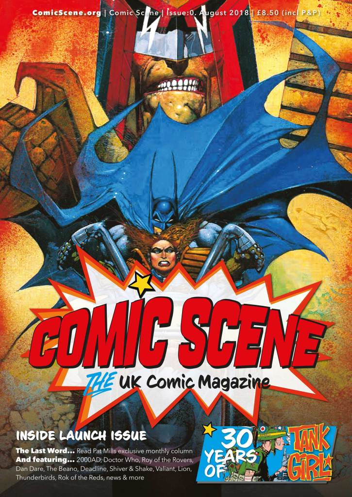 ComicScene UK Issue One Promo