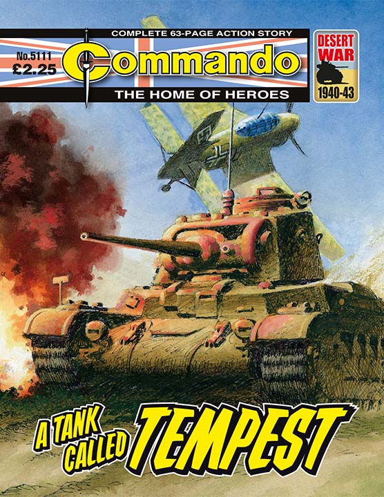 Commando 5111: Home of Heroes - A Tank Called Tempest