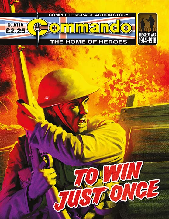 Commando 5115: Home of Heroes - To Win Just Once