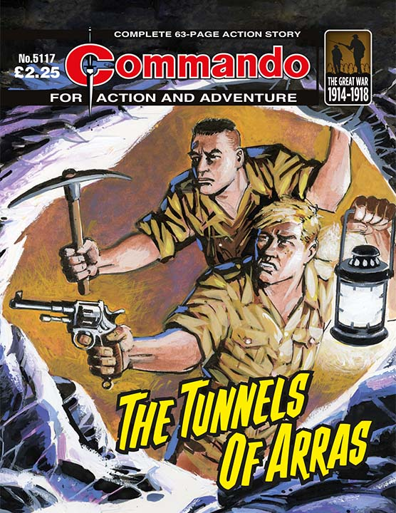 Commando 5117: Action and Adventure - Tunnels of Arras