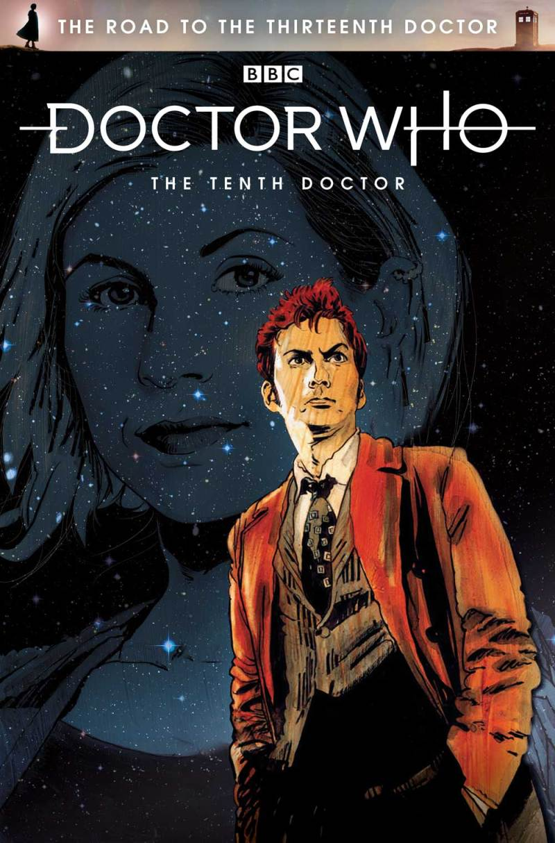 The Road To The Thirteenth Doctor - The Tenth Doctor - Cover by Robert Hack