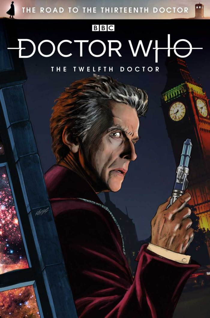 The Road To The Thirteenth Doctor - The Twelfth Doctor - Cover by Klebs Jr