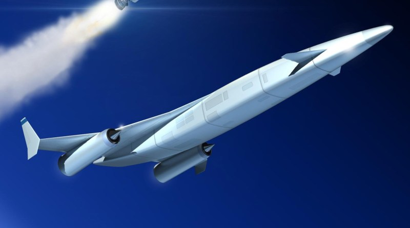 SABRE-powered reusable launch vehicle