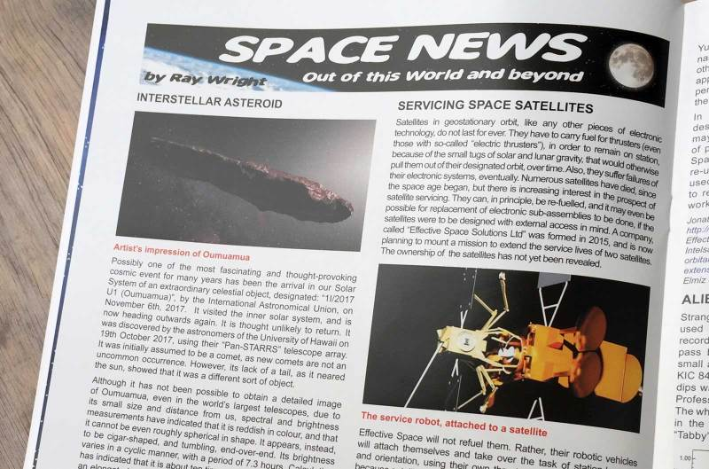 Spaceship Away 44 - Space News