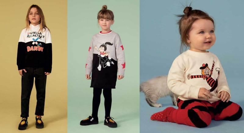 Stella McCartney Beano AW18 Kids Clothes