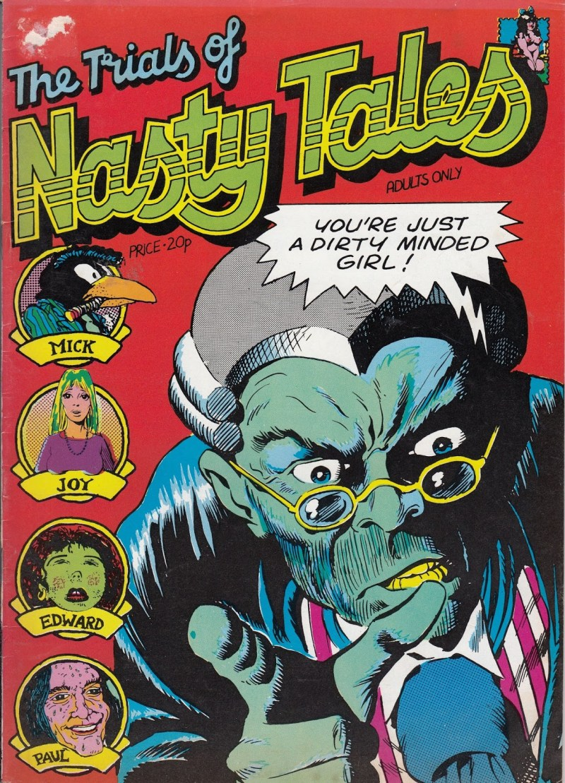 The Trials of Nasty Tales - 1973 Cover