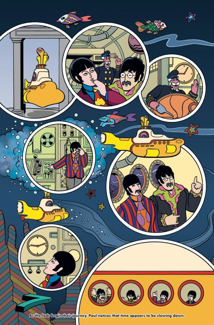 Yellow Submarine - Preview 3