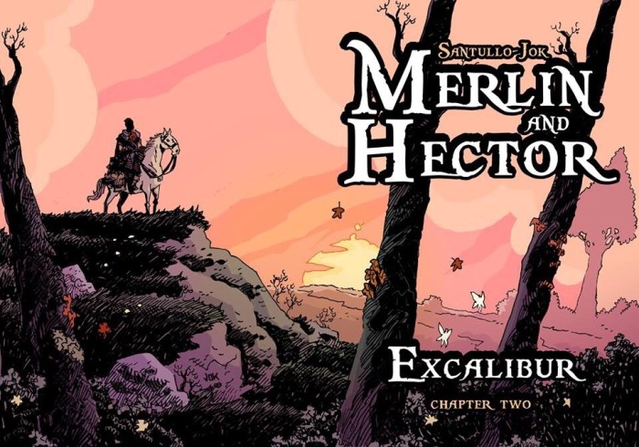 Aces Weeky 33 - Merlin and Hector by Jok and Rodolfo