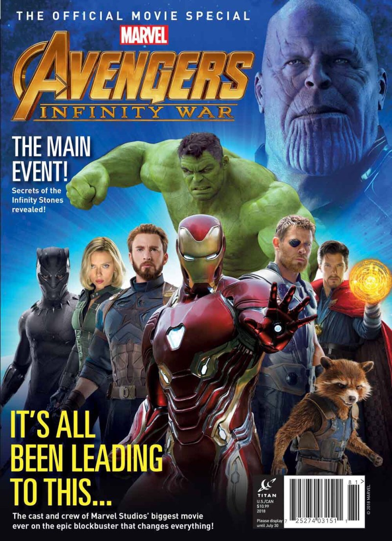 Marvel's Avengers: Infinity War Official Collector's Edition Cover - Newsstand