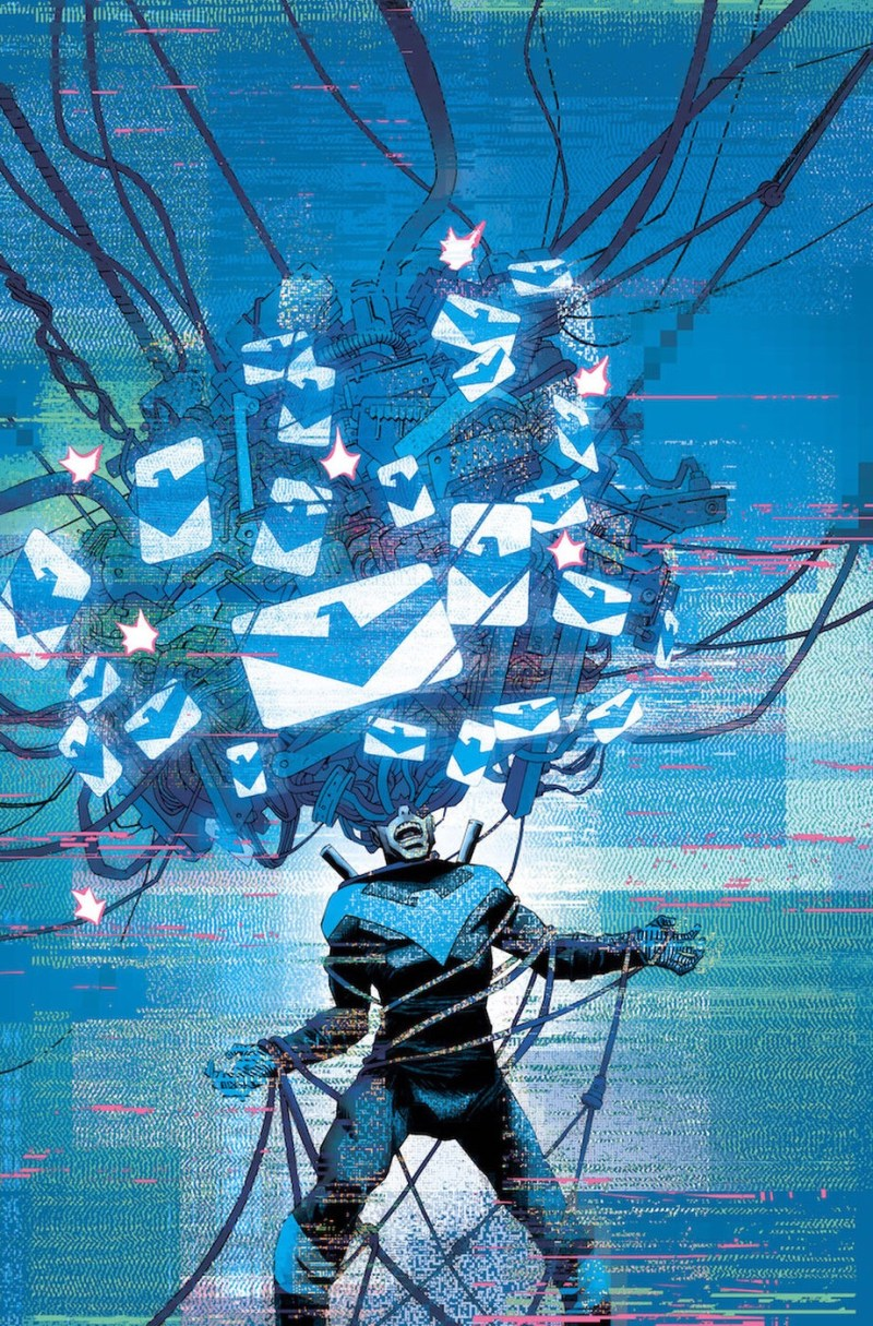 Nightwing #44 Cover by Declan Shalvey