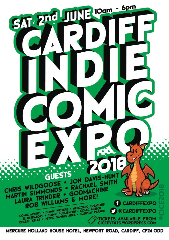 Cardiff Indie Comic Expo 2018