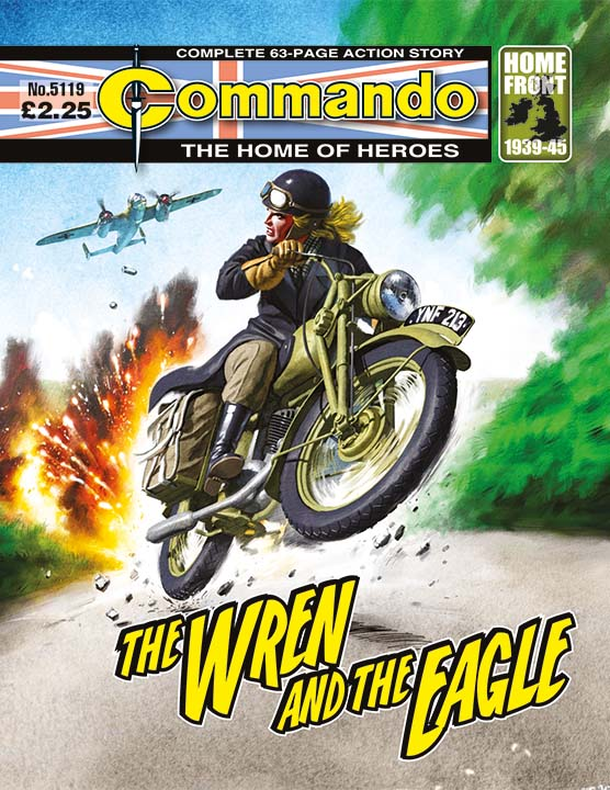 Commando 5119: Home of Heroes - The Wren and the Eagle
