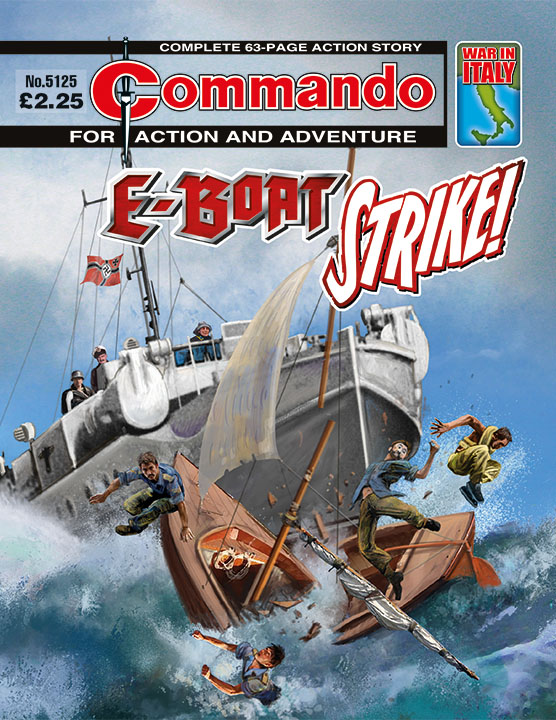 Commando 5125: Action and Adventure: E-Boat Strike!