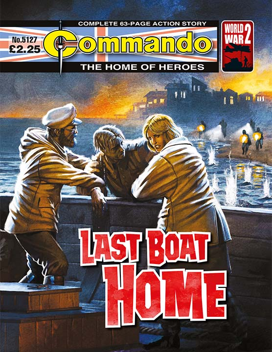 Commando 5127: Home of Heroes - Last Boat Home