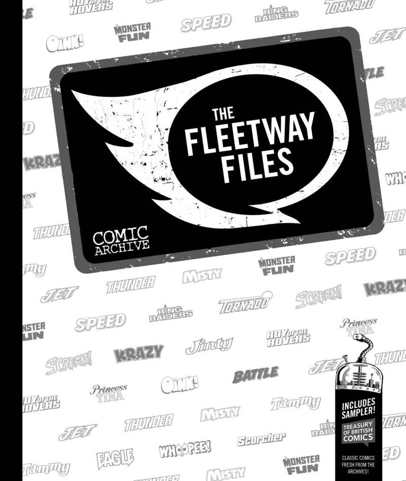 The Fleetway Files - Cover