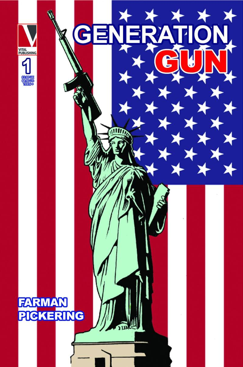 Generation Gun #1 - Cover