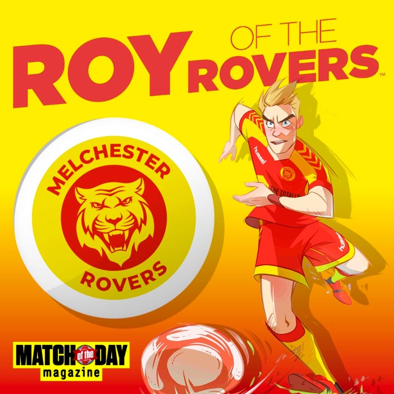 Roy of the Rovers 2018 - Banner