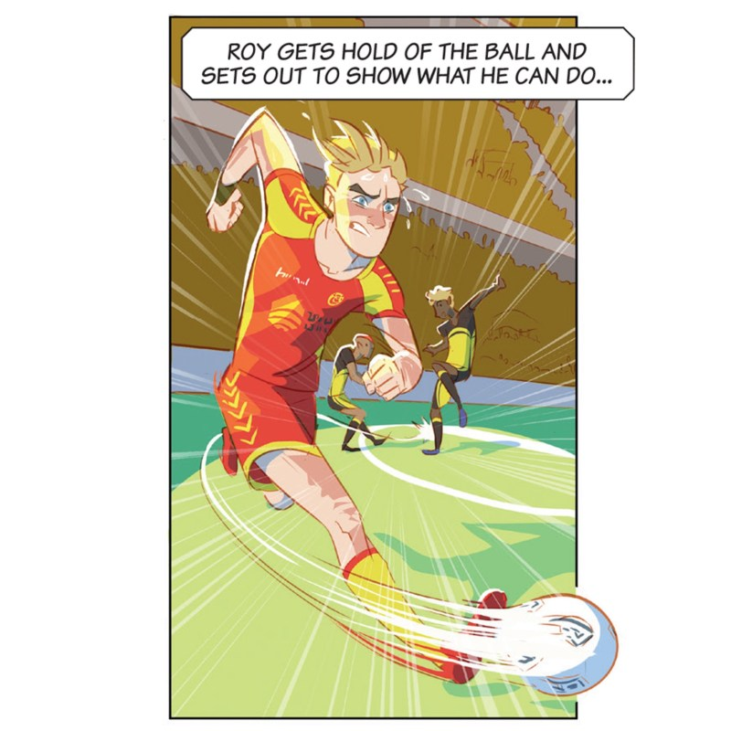 Roy of the Rovers © Rebellion Publishing