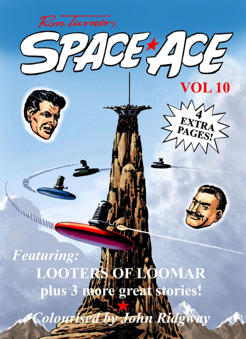 Space Ace Volume 10 - Cover