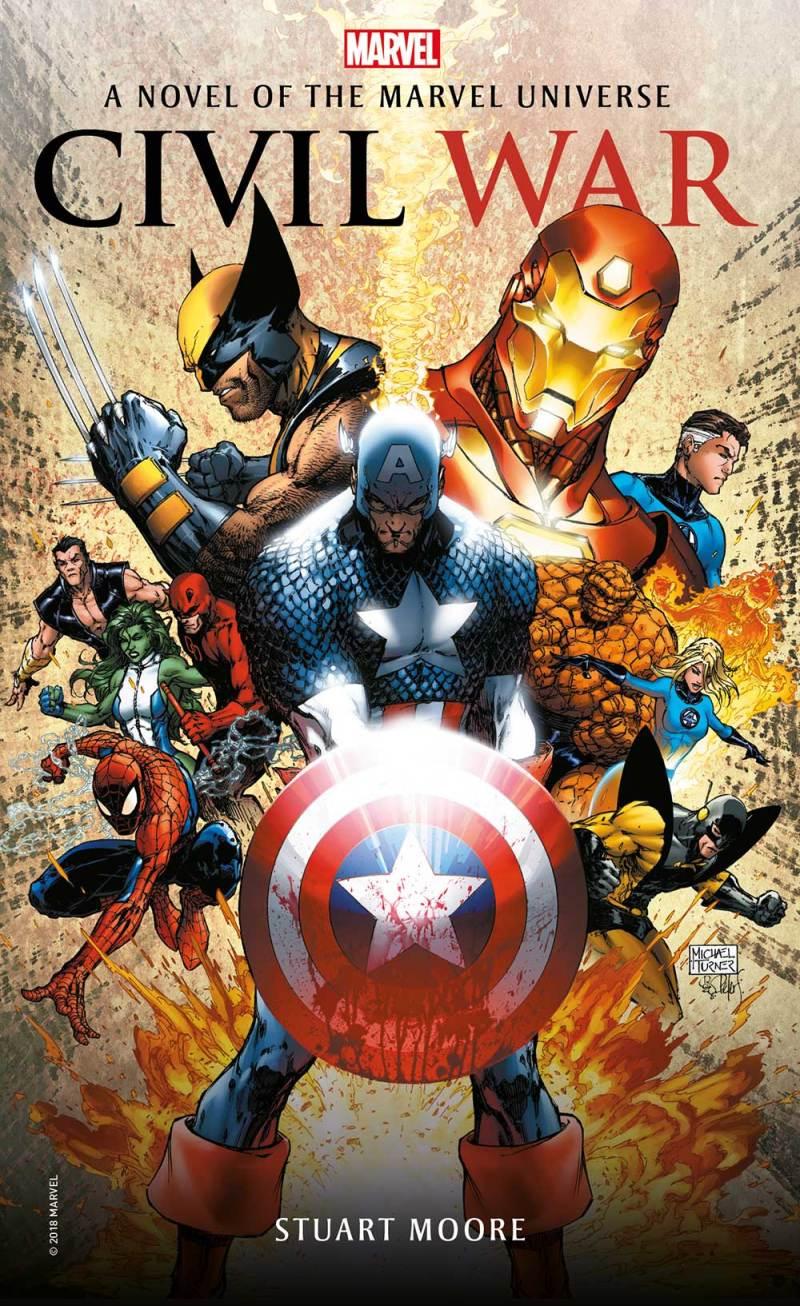 Titan Books Marvel - Civil War