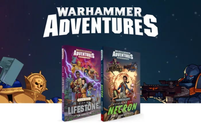 Warhammer Adventure Novels Banner