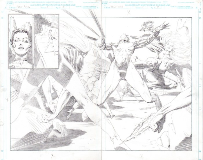 Wild Thing #11 - art by Brian Apthorp - Page 6 - 7