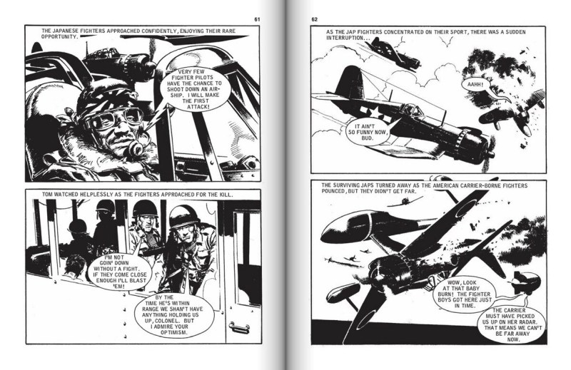 Commando 804 - Gas-Bag Gunmen. Art by Cam Kennedy
