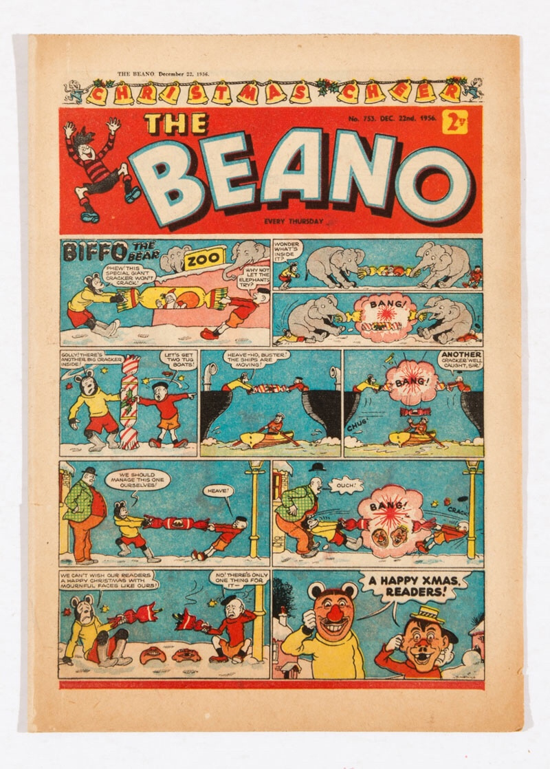 Beano 753 (1956) - Christmas Issue