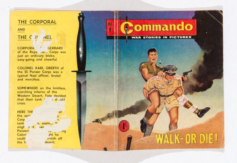 A copy of Commando Number One is included in the May 2018 Compal auction