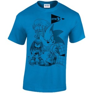 Sonic the Comic - Anniversary T-Shirt by Richard Elson