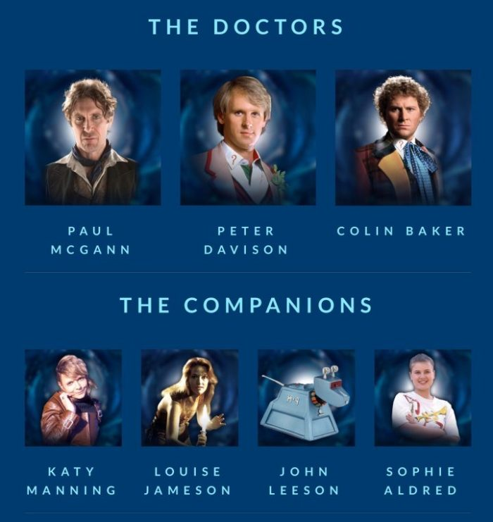 Vworp Con 2018 - Doctors and Companions