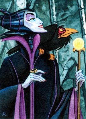 Maleficent by Graeme Neil Reid