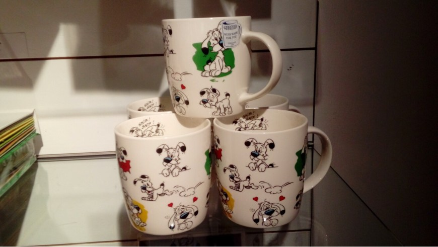 Dogmatix merchandise for sale in the Museum shop. Image: Richard Sheaf