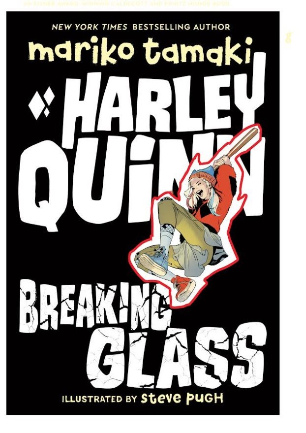 Harley Quinn - Breaking Glass by Mario Tamaki