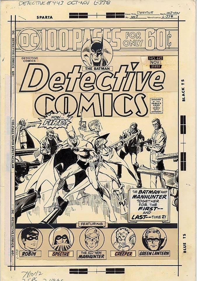 Detective Comics #443, November 1974 - art