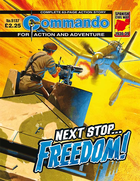 Commando 5137: Action and Adventure - Next Stop... Freedom!