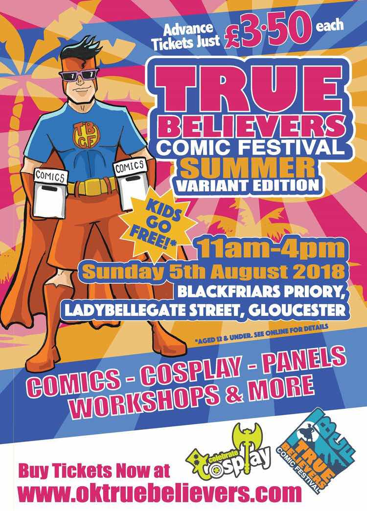True Believers Comic Festival: Summer Variant
