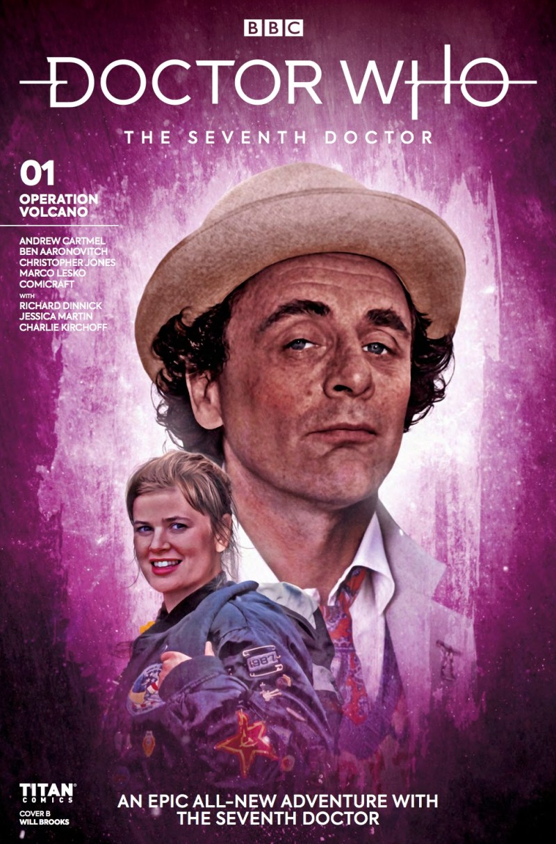 Doctor Who - The Seventh Doctor - Operation Volcano #1 Cover B by Will Brooks