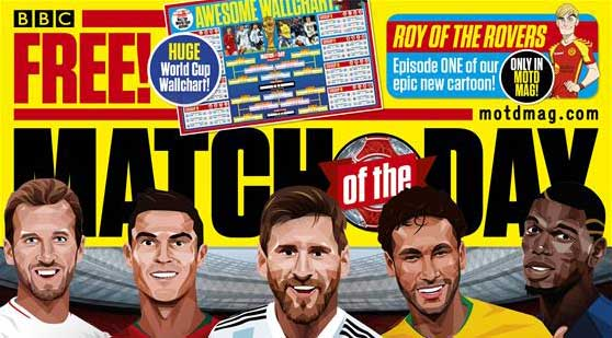 Match of the Day Magazine Issue 509 SNIP