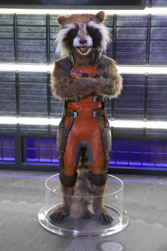 Madame Tussauds Blackpool - Rocket Raccoon