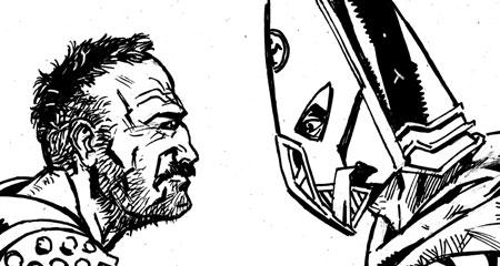 "Zarjaz 31 - Torquemada - ""Heads you Lose"" by writer Lee Robson and artist Steven Denton"