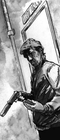 "Zarjaz 31 - Button Man - ""Lucky Day"" by writer Lizzie Boyle and artist Conor Boyle"