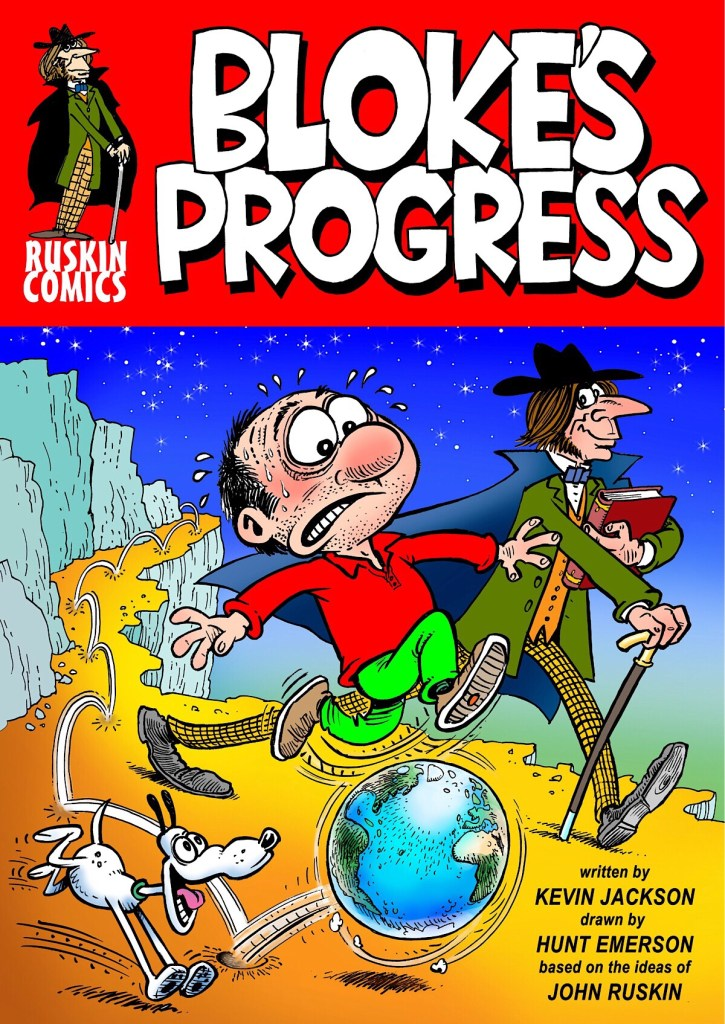 Bloke's Progress - Cover by Hunt Emerson