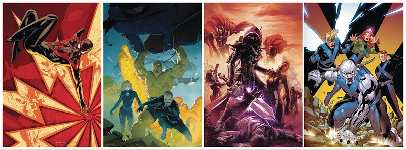 Marvel Comics On Sale August 2018 - Selection