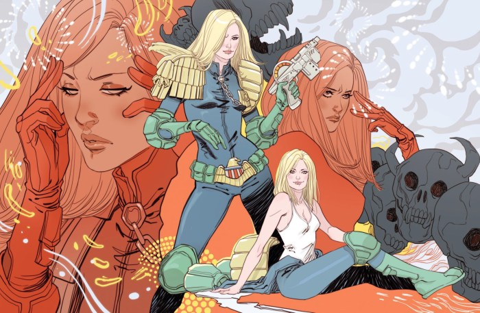 Judge Anderson poster byMarguerite Sauvage